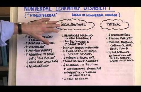 Video What Do We Mean By The Term Nonverbal Learning