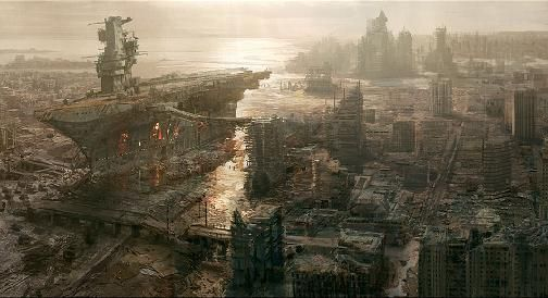 Dystopia Dystopian Socities Are In Right Now Divergent Hunger Games Planet Of The Apes Etc Cr Fallout Concept Art Fallout Wallpaper Post Apocalyptic Art