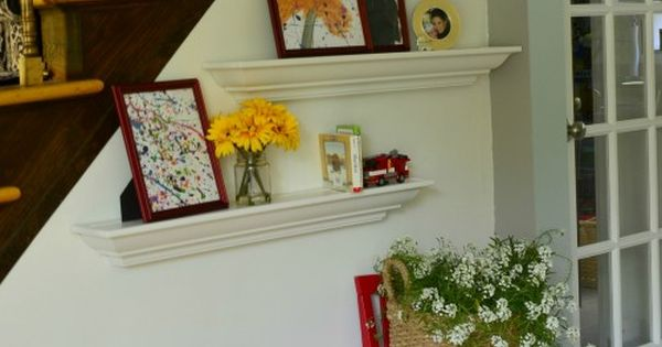 Diy back to school : DIY hang shelves using painters tape -