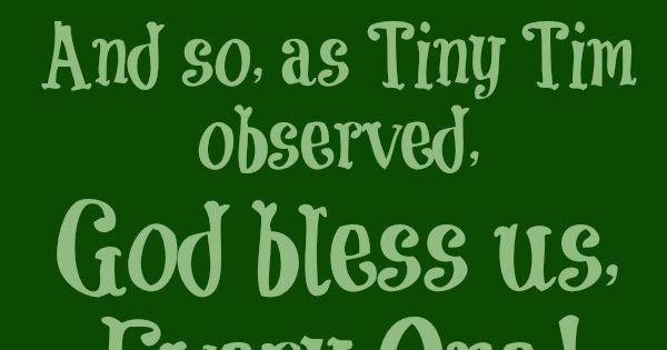 Tiny Tim, A Christmas Carol