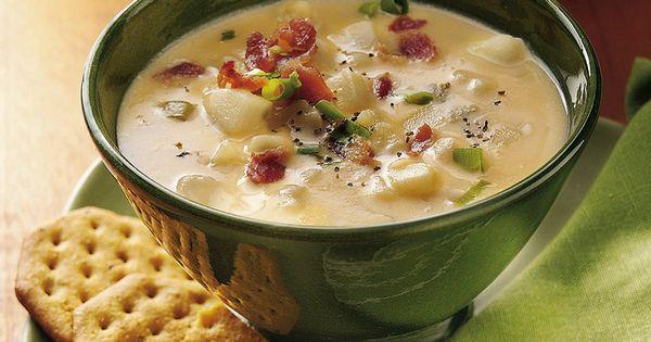 Slow Cooker Potato Soup-Slow Cooker Cheesy Potato Soup Recipe INGREDIENTS: 1 bag