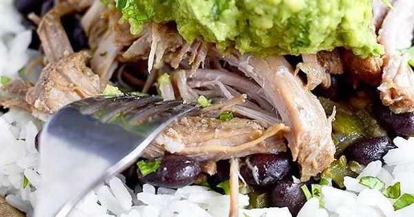 ... Cuban-Style Black Beans   Recipe   Mojo pork, Rice bowls and Crock pot