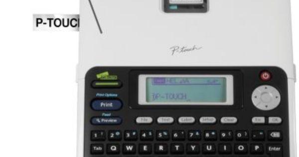 Brother P Touch Pt 2030 Simply Professional Desktop Office Labeler At Staples Refurbished Desktop Label Maker Labels