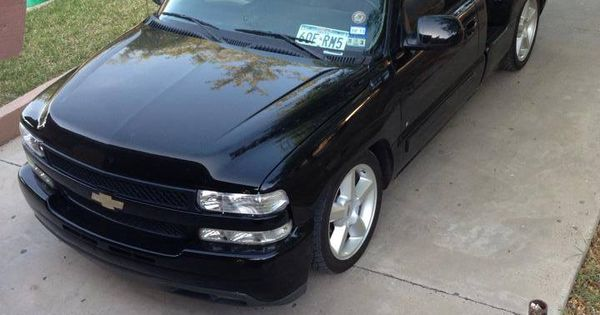 a tight 2006 silverado stepside with an hd hood sport trucks pinterest chevy. Black Bedroom Furniture Sets. Home Design Ideas