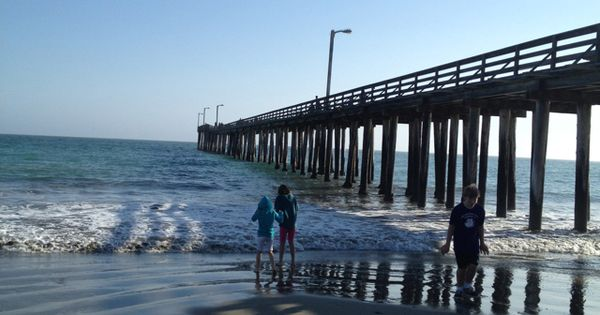 Cayucas pier in the central coast in california great for Dana point pier fishing