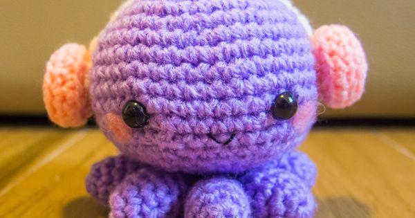 Kawaii Potato Amigurumi : Snacksies Handicraft Corner: Crocheted Octopus with ...