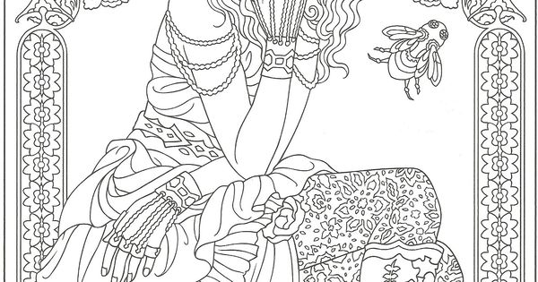 Steampunk Artwork By Marty Noble From Creative Haven Steampunk Fashions Coloring Book Dover