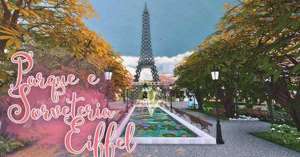 Sims 4 Cc S The Best Eiffel Park By Monysims Sims 4