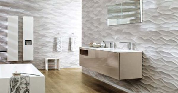 Carrelage de salle de bain mural en c ramique 3d one for Carrelage porcelanosa