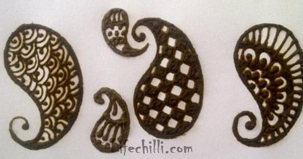 Simple Mehndi Tutorials : Simple mehndi design tutorial for hands craft projects