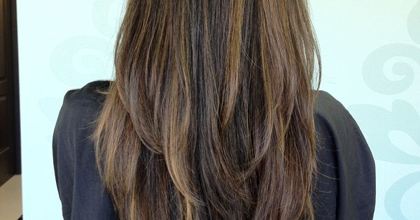 how to style your hair with a straightener hair with layers blown out hair in spiration 2239