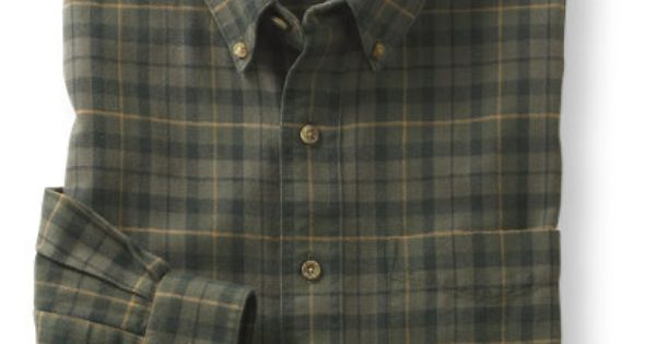 Wicked good flannel shirt plaid flannel chamois and for Ll bean wrinkle resistant shirts