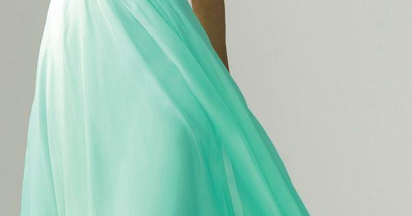 Prom Dress, Aqua Dress, Sparkly Dress, Long Dress