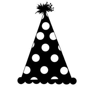 Party Hat Silhouette Design Silhouette Sketch Pens Design Store