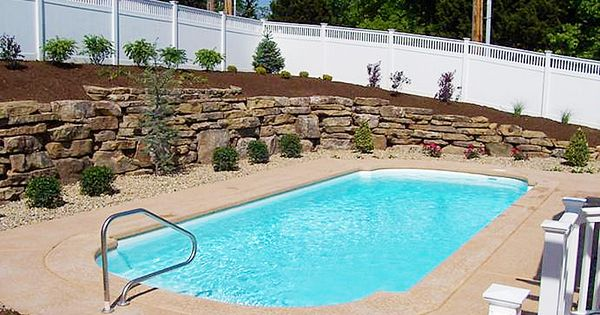 Aloha Fiberglass Pool Bellagio Model Beautiful Pools Pinterest Fiberglass Pools