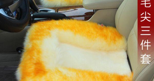 Auto Wool Cushion Pad For Vw Polo Passat Golf Santana Touran Jetta Tiguan Bora Sagitar Magotan Beetle Phaeton Touareg Lavi Interior Accessories Toy Craft Camry