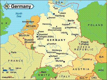 Cologne germany map grey cologne germany map world map gumiabroncs Choice Image