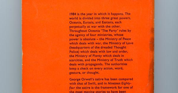 essays on book 1984