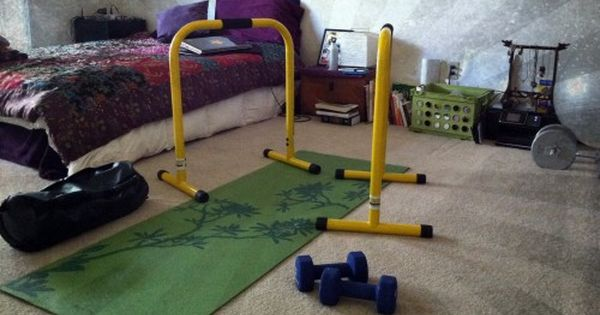 The Equalizer Bars By Lebert Fitness No Equipment Workout Diy Exercise Equipment At Home Gym