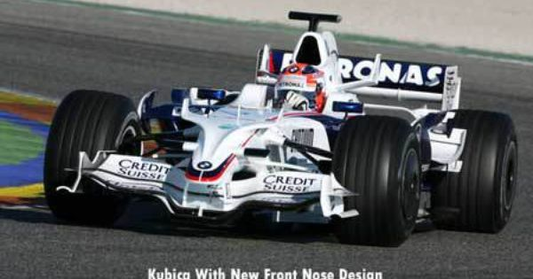 Bmw Sauber New Front Nose Tested Again Today Nose Formula Racing Today