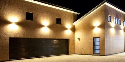 Image result for sconce garage lights