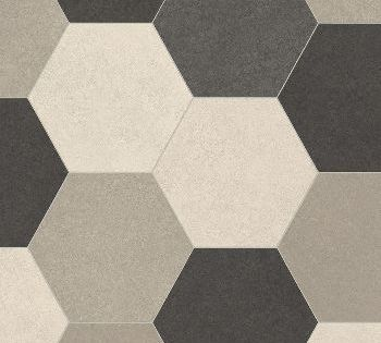 Wizzart 586 Goldie Hexagon 2m A Vinyl Flooring Flooring Cushioned Vinyl Flooring