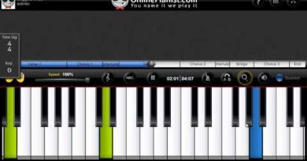 Piano Tutorial Of It Will Rain By Runo Mars Piano Tutorial