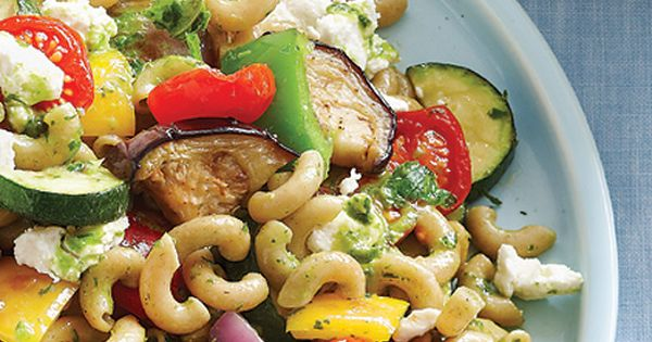 Roasted Veg Pasta Salad