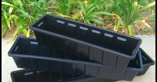Plastic Planter Box Inserts Window Box Liners Flower
