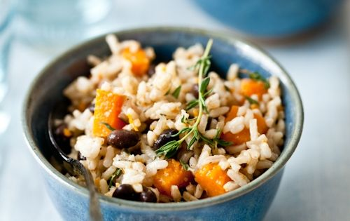 butternut squash, black bean, coconut rice | mangia tutto ...