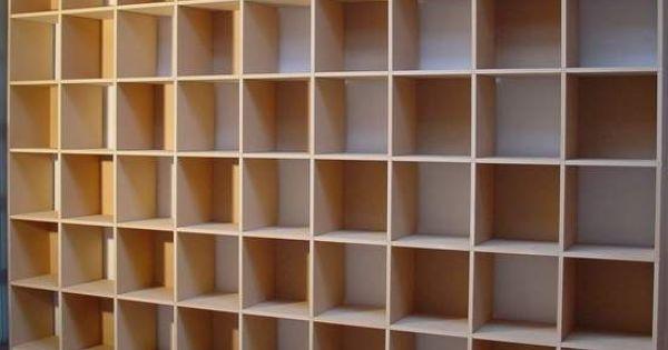 Qube vakkenkast - Boekenkasten : Pinterest
