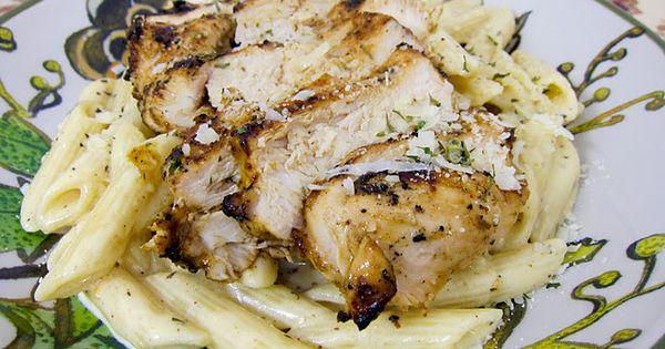 Grilled Cajun Ranch Chicken Pasta | Plain Chicken.... Ingredients: olive oil, ranch