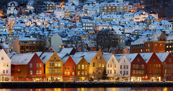 Bryggen in Bergen (Norway) by Tord Andre Oen