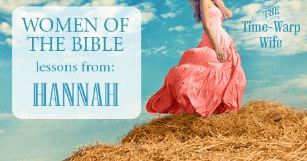Hannah Bible Character Study - Study and Obey