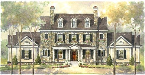 Pennsylvania Stone Farmhouses Stone Farmhouse Plans Find House Plans House Plans Farmhouse Castle House Plans Country House Plans