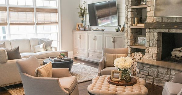 Shiplap Walls Stone Fireplace And Hearth Timber Floors
