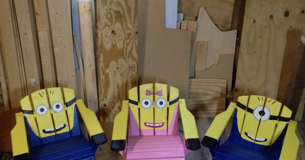 Minion Chairs For The Home Pinterest