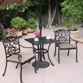 Enjoy Your Outdoor Parties With Bistro Sets Patio Bistro Set