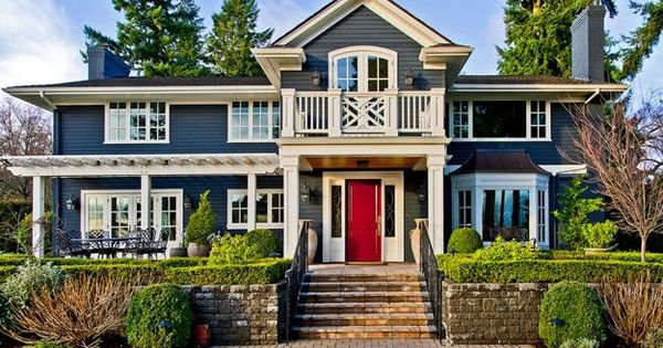 Front Door Decoration With Red Colors 22 House Exterior Design Ideas Feng Shui Exterior And