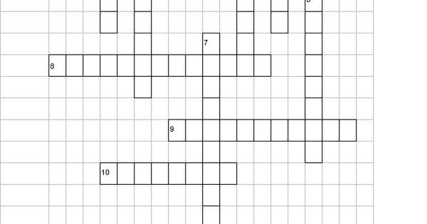 Swiss Family Robinson Crossword Puzzle
