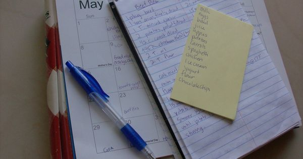 Many people over-complicate menu planning. All you have to do is plan