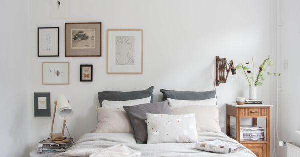 As se convierte un dormitorio terrible en uno de - Dormitorios estilo nordico ...