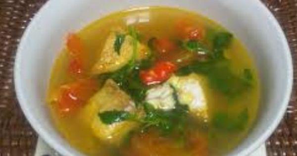 Resep Masakan Sup Ikan Tuna Kuah Bening