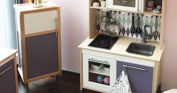 kinderzimmergestaltung so kreativ sind unsere kunden spielk che kinderk che und k hlschrank. Black Bedroom Furniture Sets. Home Design Ideas