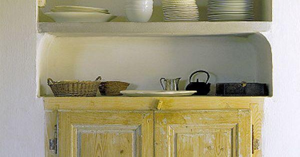 Simple life french villa platera bijkeuken pinterest keukens en spaans - Keukenmeubelen rustiek ...