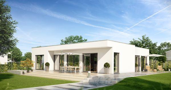 der neue flachdach bungalow purea von kern haus die pure art zu leben jetzt reinschauen und. Black Bedroom Furniture Sets. Home Design Ideas
