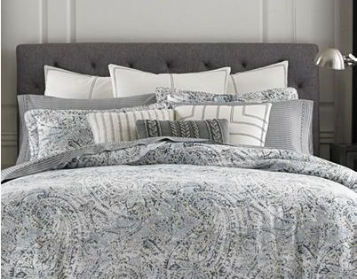 Tommy Hilfiger Oak Bluff Paisley Bedding Collection Reviews Bedding Collections Bed Bath Macy S Paisley Bedding Comforter Sets Luxury Bedding