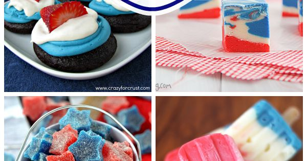 july 4th dessert red white blue