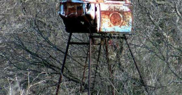 Texas Deer Blind Repurpose The Ol 4 Wheeler For The