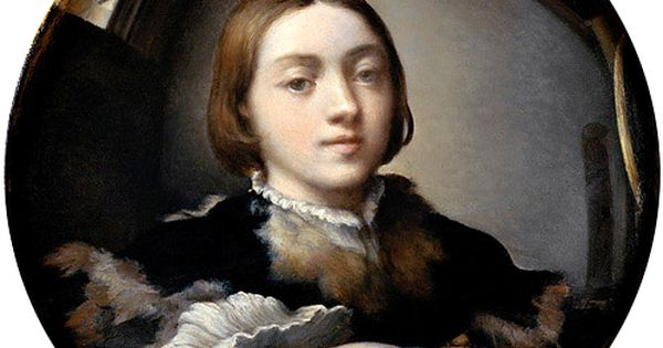 Parmigiano autoportrait au miroir convexe 1524 for Autoportrait miroir